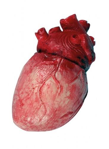 Corazón Látex, 14 cm.