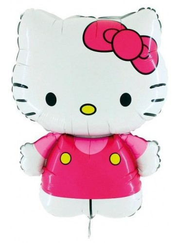 Globo Hello Kitty, 75 cm.