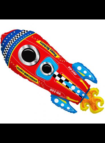 Globo Cohete, 71 cm. AGOTADO.