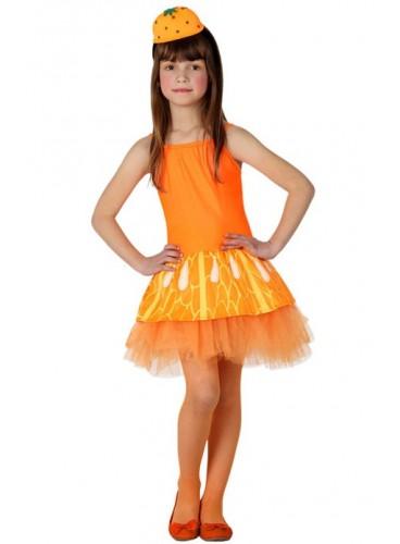 Disfraz Chica Naranja