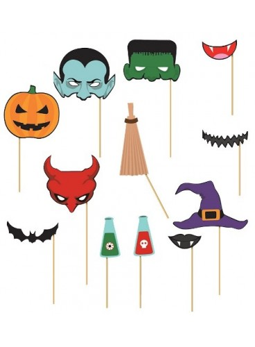 Set Photocall Halloween (12 artículos)