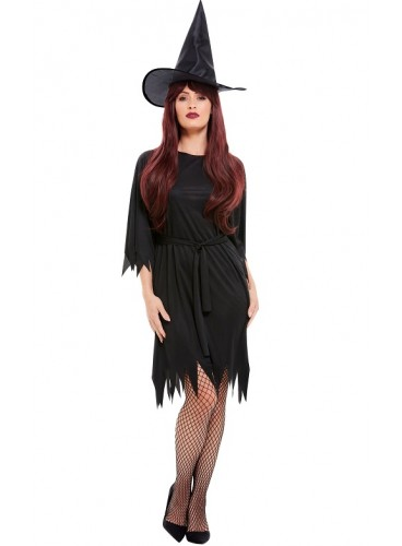 Disfraz Bruja Negra Picos