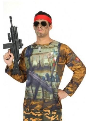 Camiseta Chico Militar