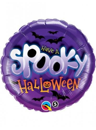 Globo Spooky Halloween, 46 cm.