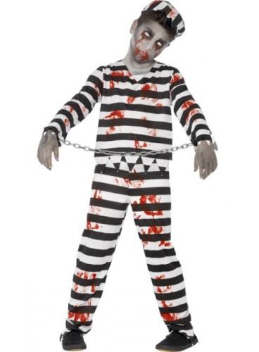 Disfraz Preso Zombie