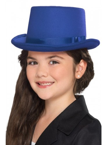 Chistera Azul Fieltro Infantil