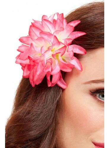 Clip Flor Hawaiana Tropical