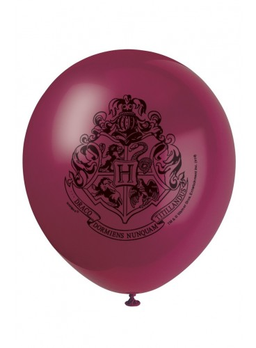 Globos Harry Potter, 30 cm. (8 uds.)
