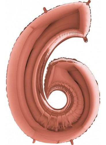 """Globo """"6"""" Oro Rosa, 100 cm."""