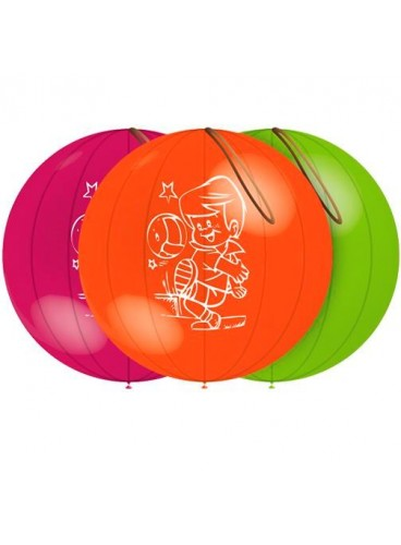 "Globos ""Punch Ball"" 140 cm. Pro-Quality, 3 uds."
