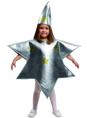 Disfraz Estrella Plateada