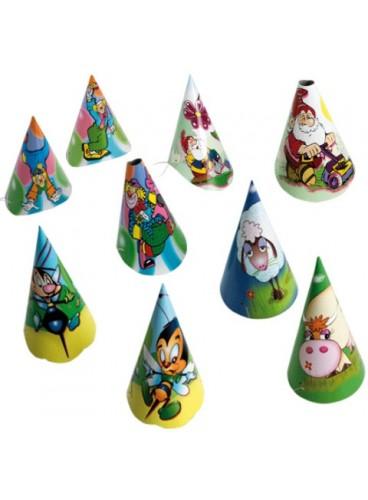Gorro Cartón Infantil (Modelos Surtidos)