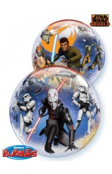 Globo Star Wars Burbuja, 56 cm.