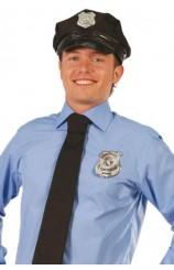 Placa Policía Metálica