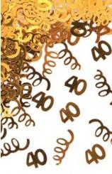 """Confetti """"40"""""""