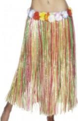Falda Hawaiana Multicolor 79 cm.