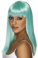 Peluca Azul Aqua Glamourama