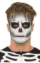 """Kit Maquillaje Esqueleto """"Brillo en la Oscuridad"""""""