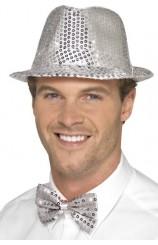 Sombrero Lentejuelas Plateado