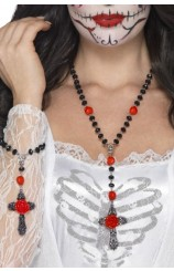 "Set Rosario + Pulsera ""Day of the Dead"""
