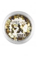 Confetti Glitter Dorado Maquillaje