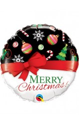Globo Merry Christmas!, 46 cm.