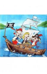 Servilletas Piratas, 20 uds.