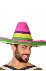 Sombrero Mejicano Multicolor, 50 cm.