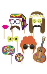 Set Photocall Hippie (12 artículos)