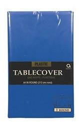 Mantel Azul Oscuro Plástico, 274 x 137 cm. AGOTADO.