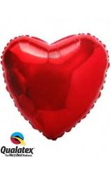 Globo Corazón Rojo, 46 cm.