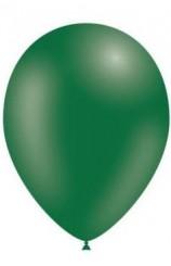 Globos Verde Bosque 95 cm. Pro-Quality, 10 uds.