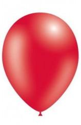 Globos Rojos Metalizados 86 cm. Pro-Quality, 50 uds.