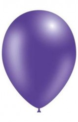 Globos Púrpura Metalizados 86 cm. Pro-Quality, 50 uds.