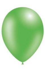 Globos Verdes Metalizados 86 cm. Pro-Quality, 50 uds.