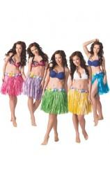 Falda Hawaiana 45 cm. (Colores Surtidos)