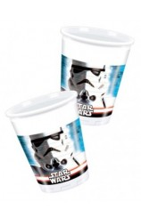 Vasos Star Wars, 8 uds.