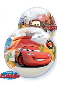 Globo Cars Burbuja, 56 cm.