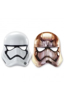 Kit 6 Caretas Stormtrooper. AGOTADO.