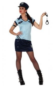 Disfraz Policía Chica