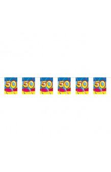 "Mini Banderas ""50"", 4 m."
