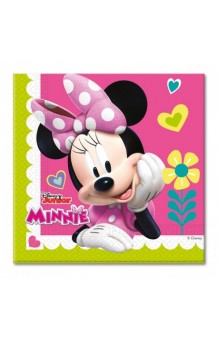 Servilletas Minnie Mouse, 20 uds.
