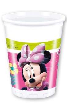 Vasos Minnie, 8 uds.