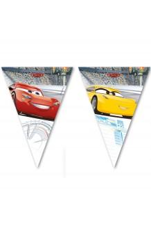 Banderines Cars, 230 cm.