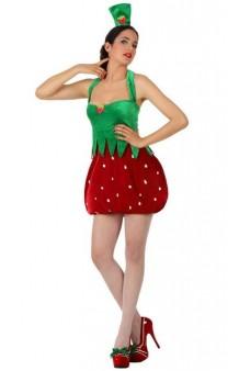 Disfraz Chica Fresa