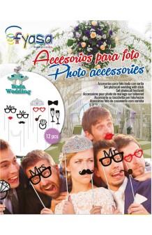 Set Photocall Boda (12 artículos)