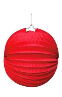 Farol Rojo Redondo, 20 cm. AGOTADO.