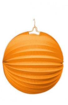 Farol Naranja Redondo, 20 cm.