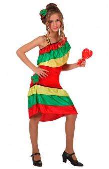 Disfraz Rumbera Cubana