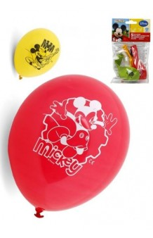 Globos Mickey Mouse, 5 uds.